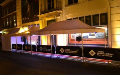 Tent-up tenten bij Leiden Internationaal Film Festival 2014
