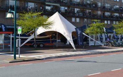 starshade tenten bij De Langevoorts Voorjaarsfair Oegstgeest