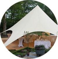 Starshade: stijlvolle tent voor elke bruiloft
