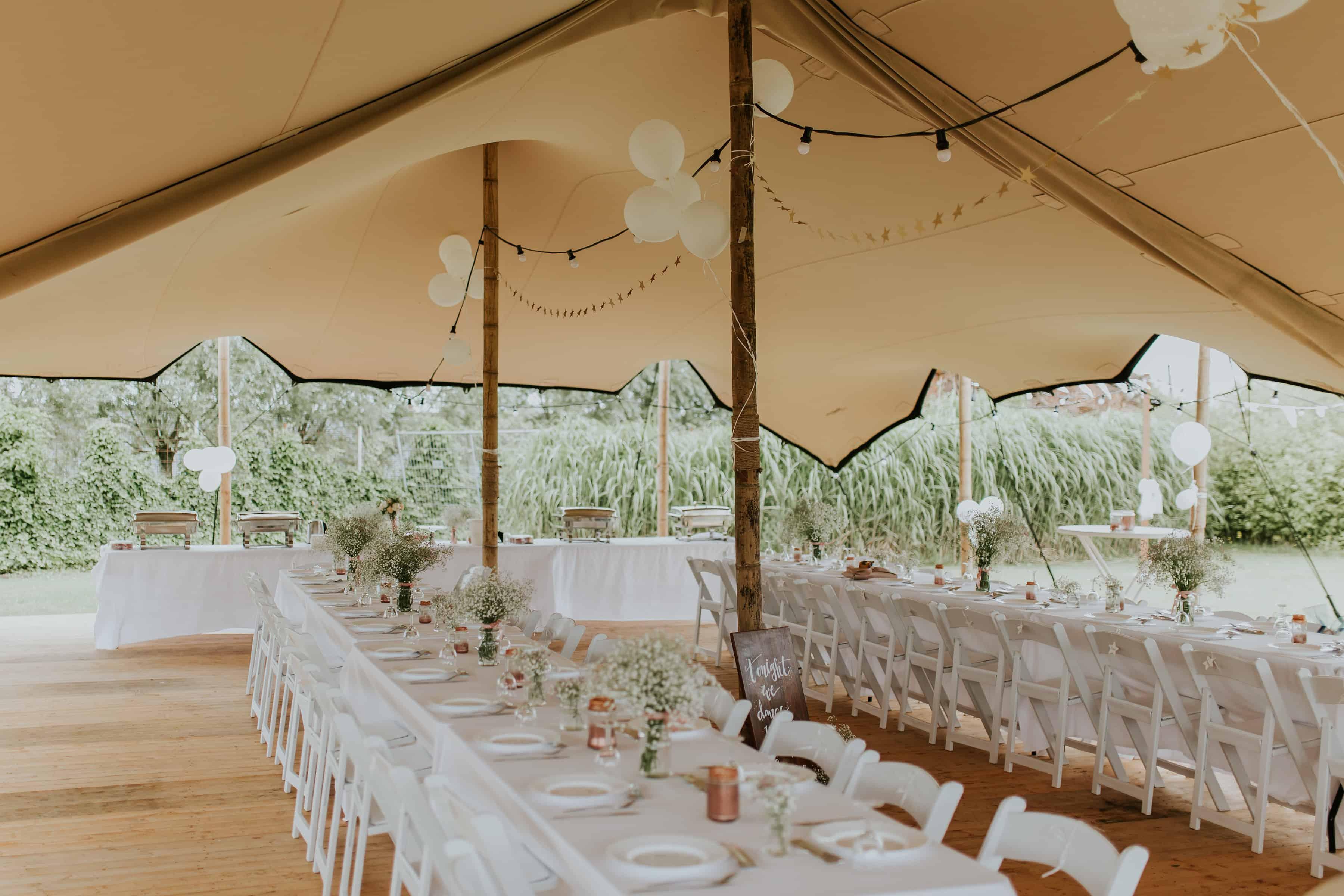 stretchtent bruiloft rijnsburg