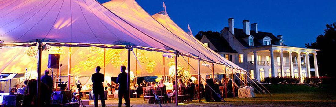 Ivory tenten bij Tent4Rent