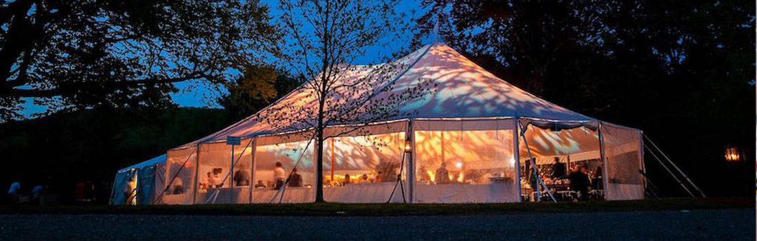 White Luxury tent 3