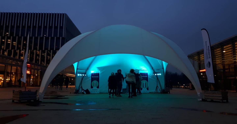 dome-tent bij Tent4Rent