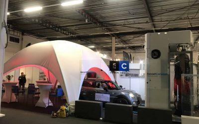 Dome tent bij Eenzet Carwash op Expo Houten