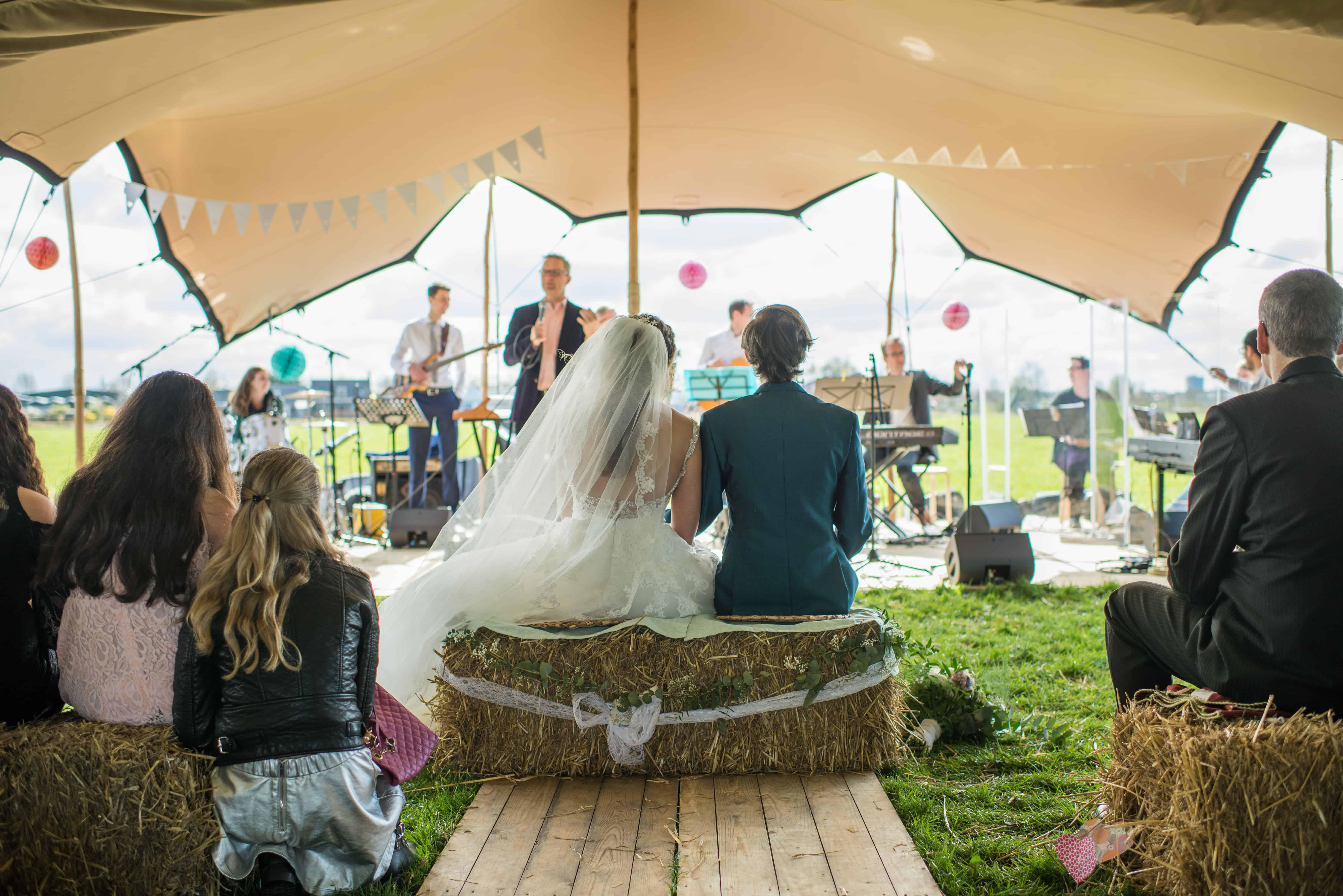 Stretchtent bruiloft Haarlem