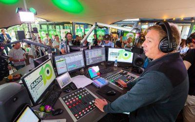Stretchtent voor Somertijd BBQ 2017 Radio 10 Hilversum