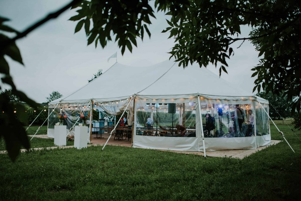 White luxury eemnes tent4rent