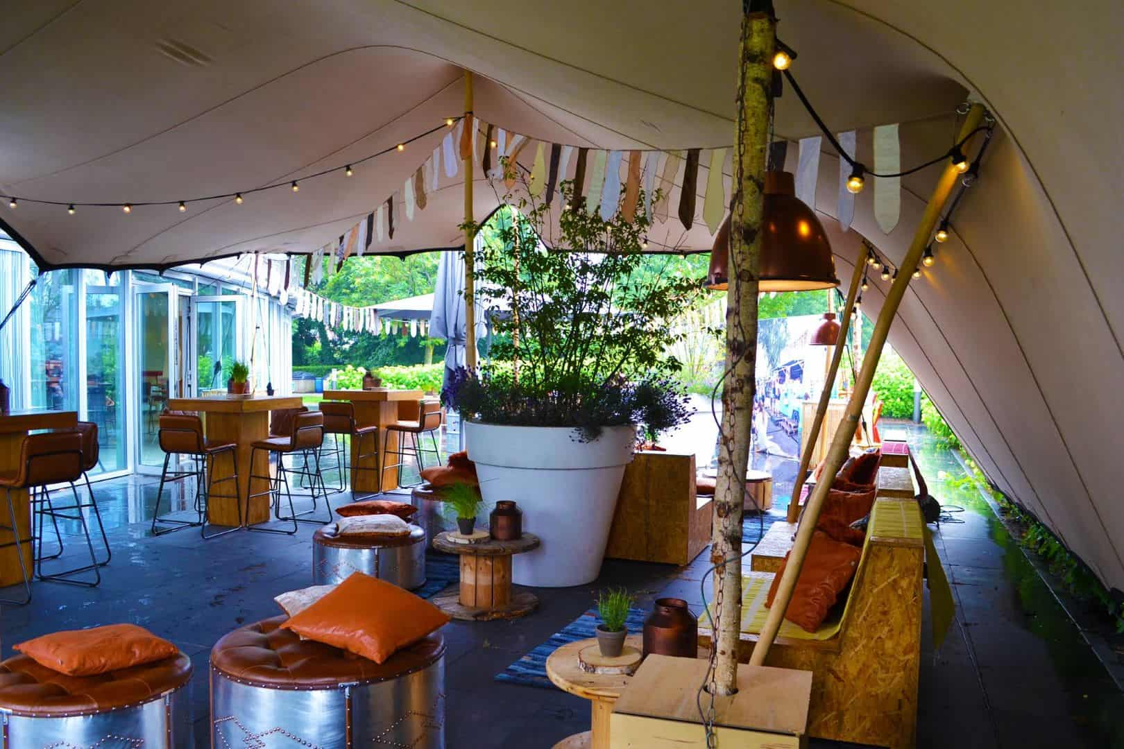 stretchtent bedrijfsfeest tent4rent