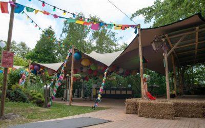 Stretchtent Bruiloft in Noordwijkerhout