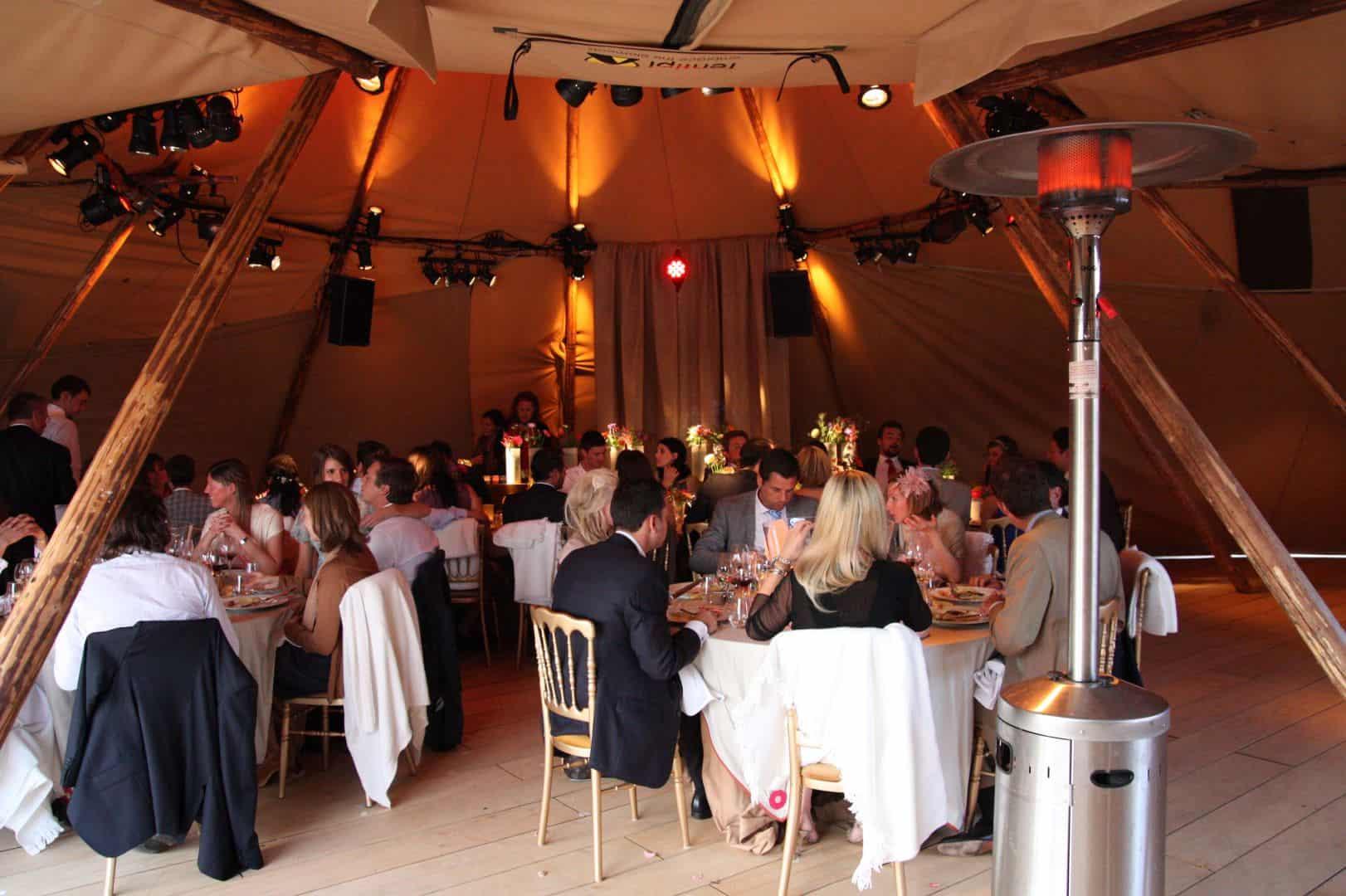 Zweedse tent Stratus diner foto: TheFireWithin