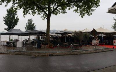 Stretchtenten Rotterdam restaurant Borgo 'd Aneto