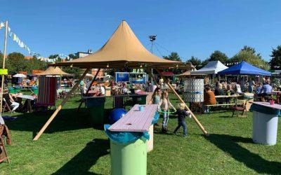 Tipi Tent Nimbus voor Toost Festival
