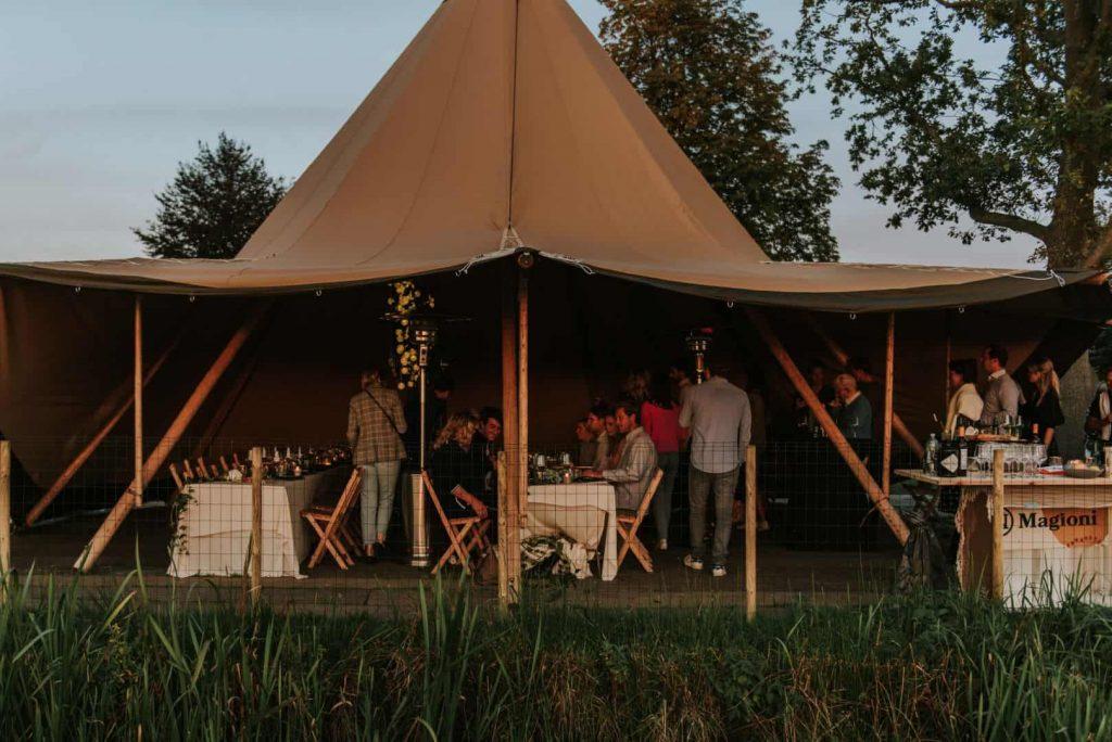Zweedse tent Stratus bij Tent4Rent